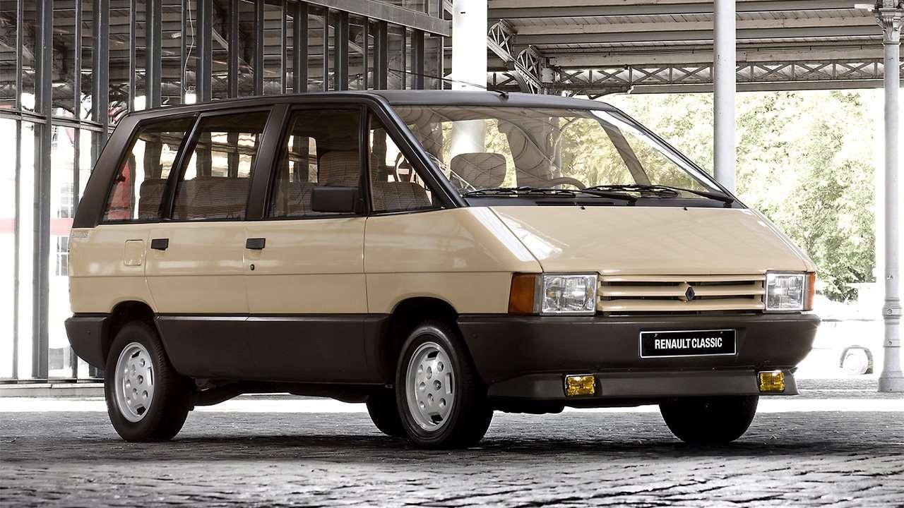 Передок первого Renault Espace