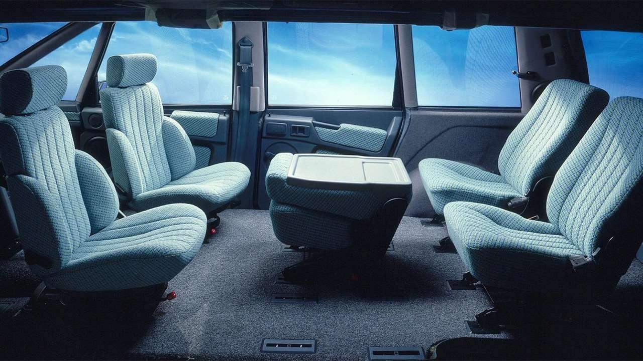 Все сиденья Renault Espace I