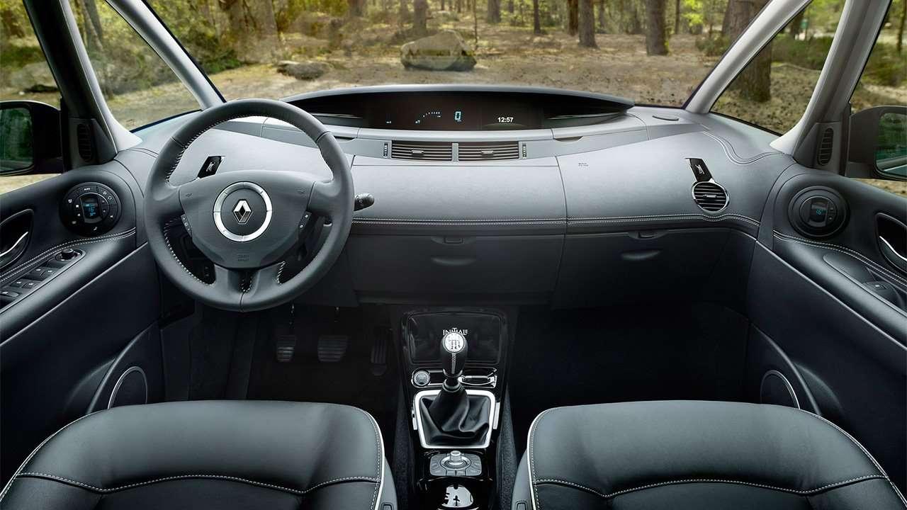 Салон четвертого поколения Renault Espace