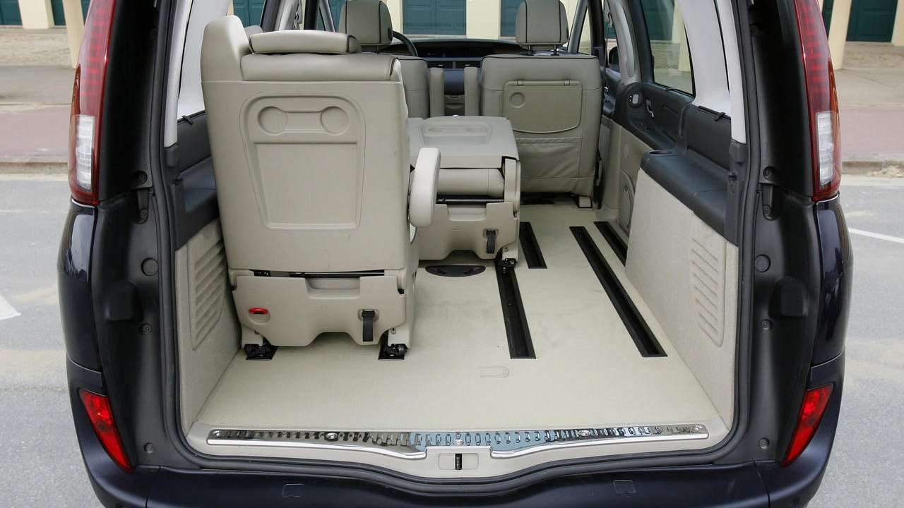 Багажник Renault Espace 4