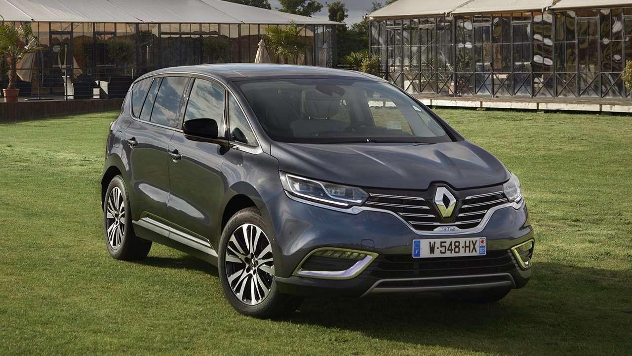 Передняя часть Renault Espace 2020-2021