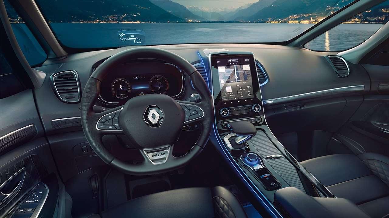 Фото салона Renault Espace 5