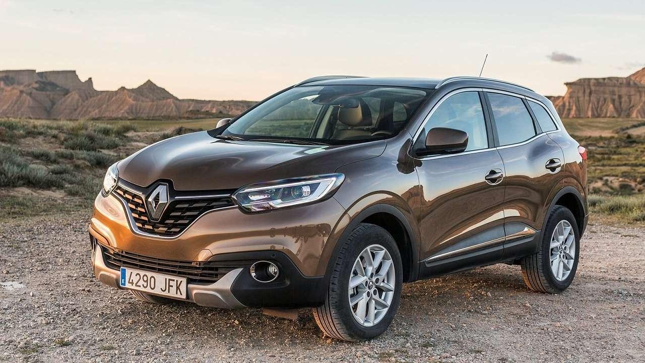 Renault Kadjar 2019-2020 фото спереди