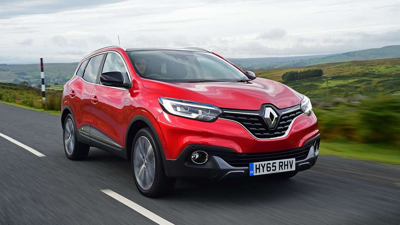 Передняя часть Renault Kadjar 2019-2020