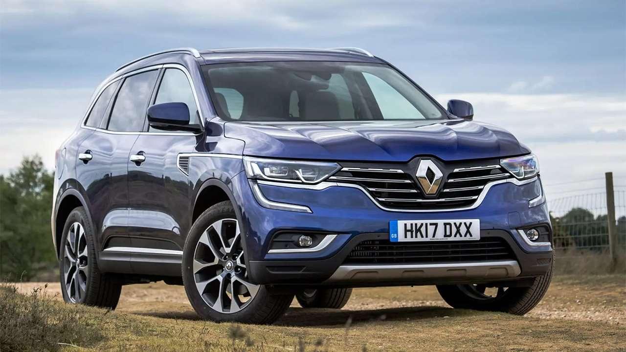Renault Koleos 2020-2021 фото спереди