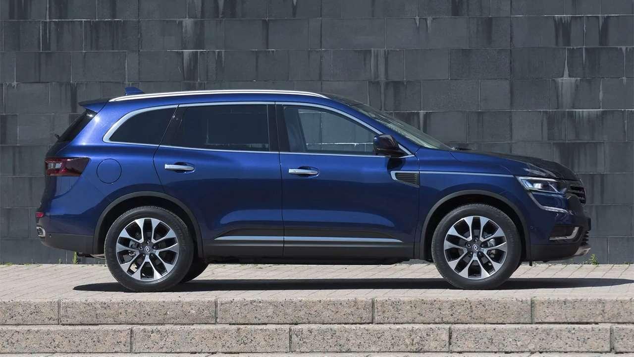 Renault Koleos 2020-2021 фото сбоку