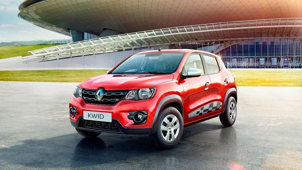 Renault Kwid фото спереди