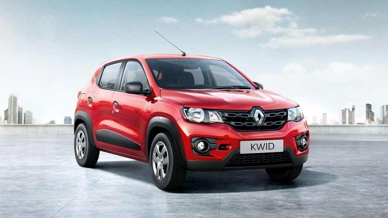 Фото морда Renault Kwid