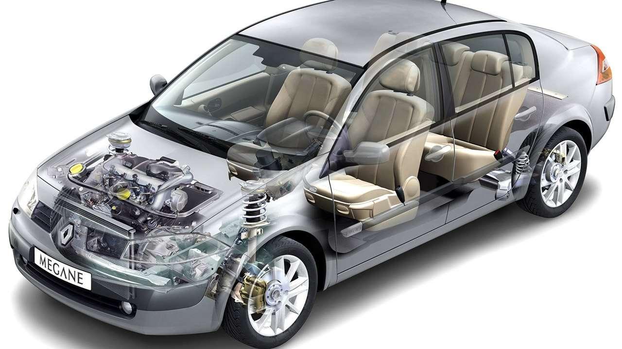 Подвеска Renault Megane 2
