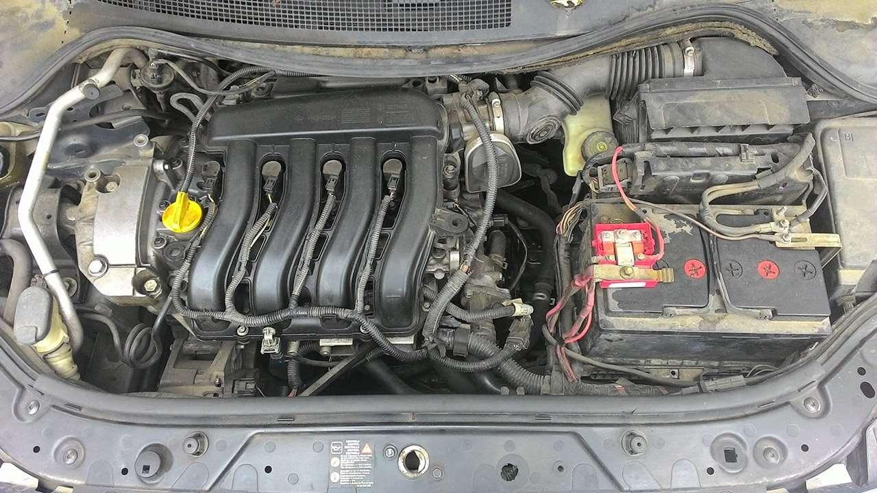 1,6-литровый мотор Мегана 2