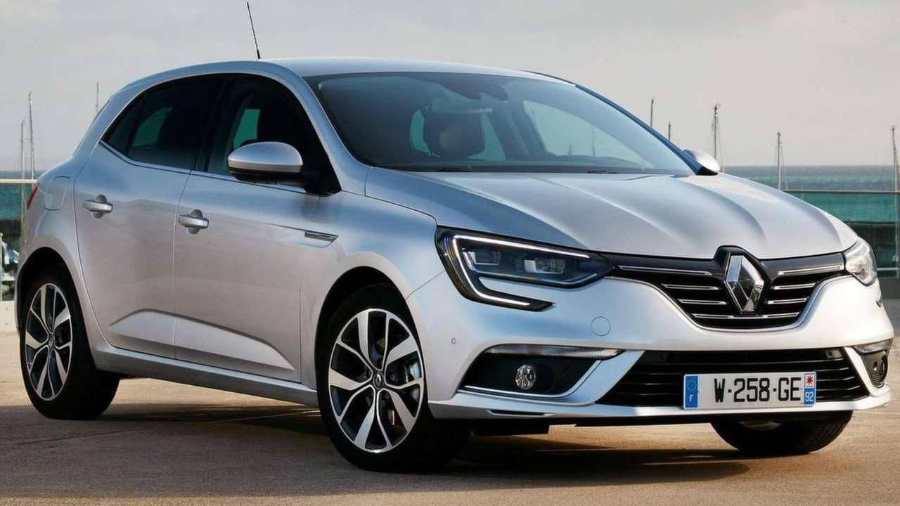 Renault Megane 2020-2021 фото спереди