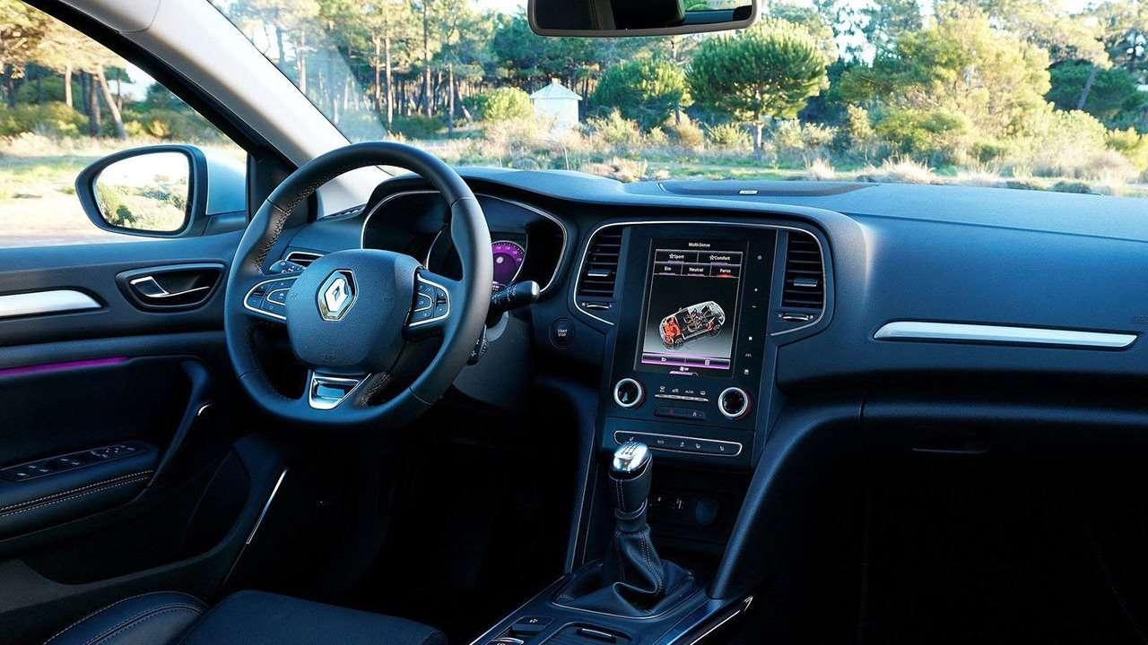 Renault Megane 2020-2021 фото салона