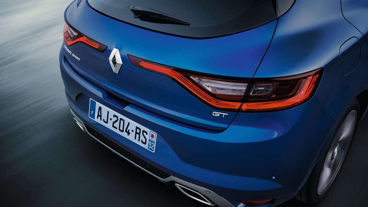 Renault Megane 2020-2021 фото задней фары