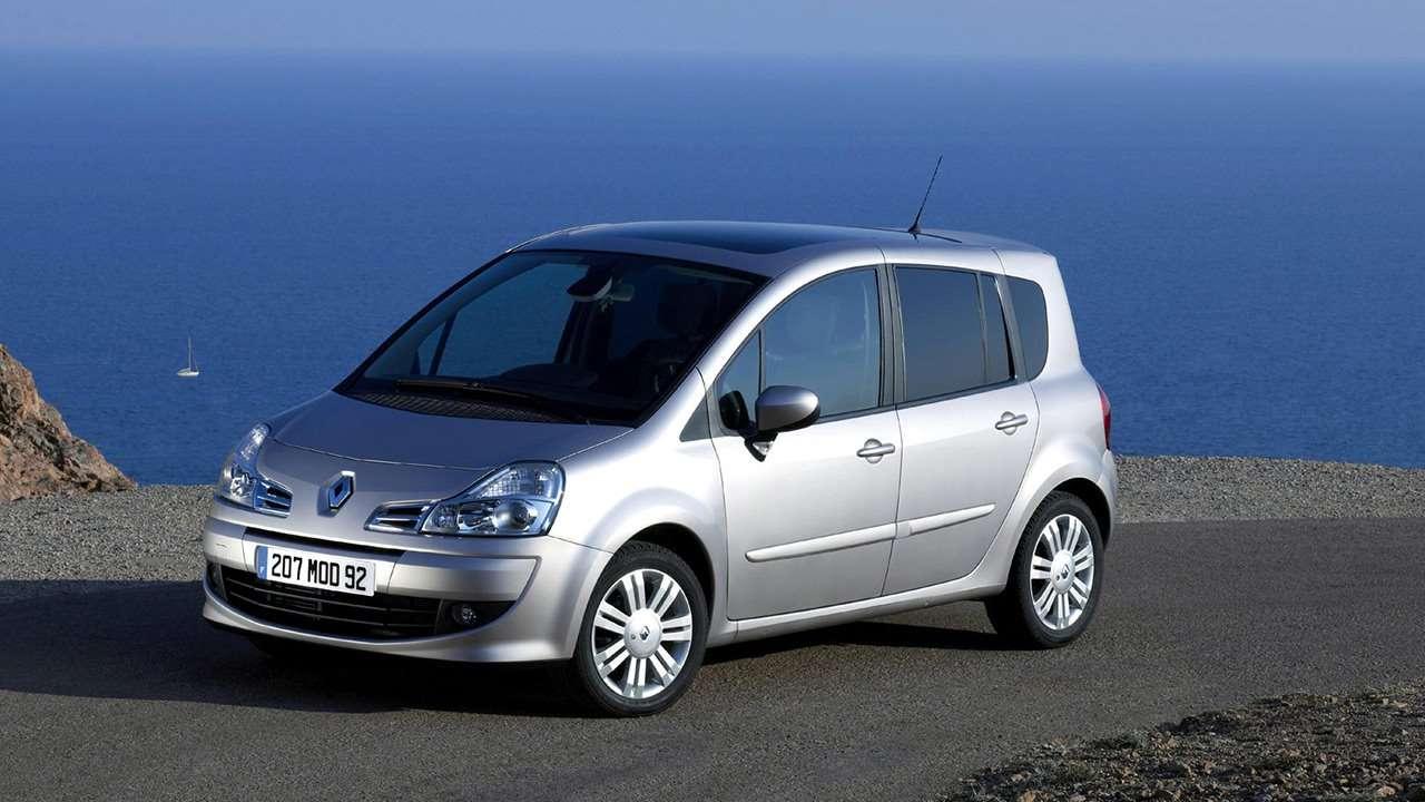 Renault Modus 2005 фото спереди