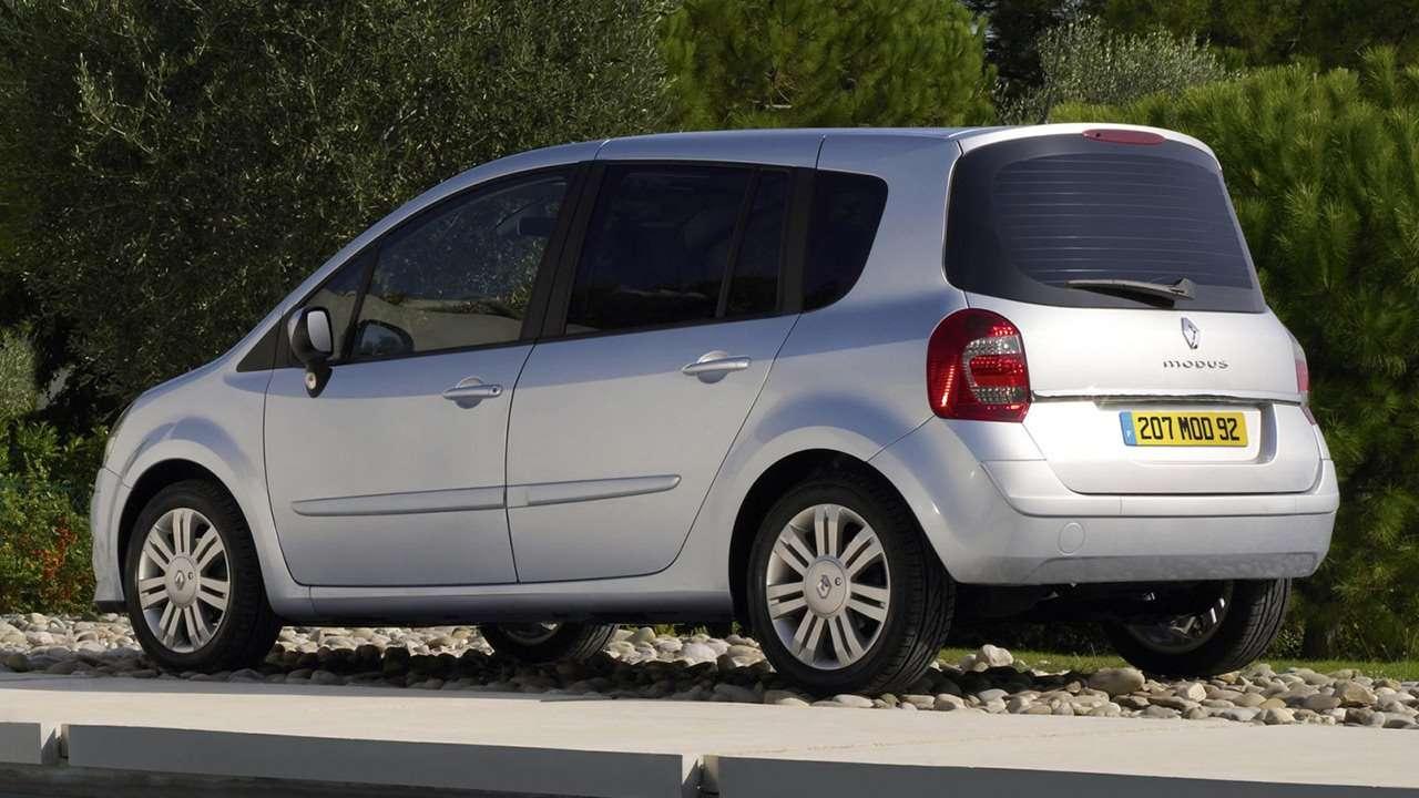 Renault Modus 2005 фото сзади