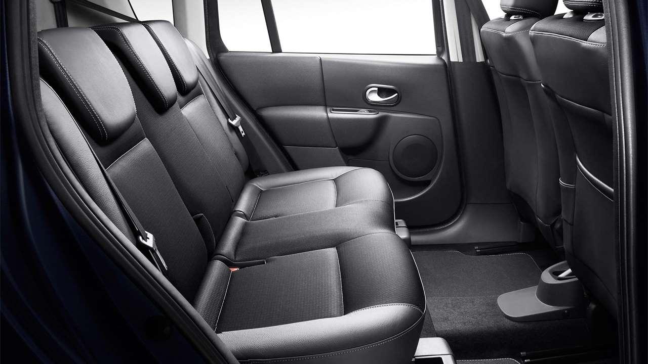 Задние сиденья Renault Modus