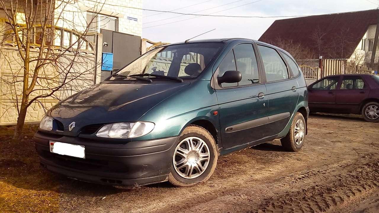 Передняя часть Renault Scenic 1996-1999