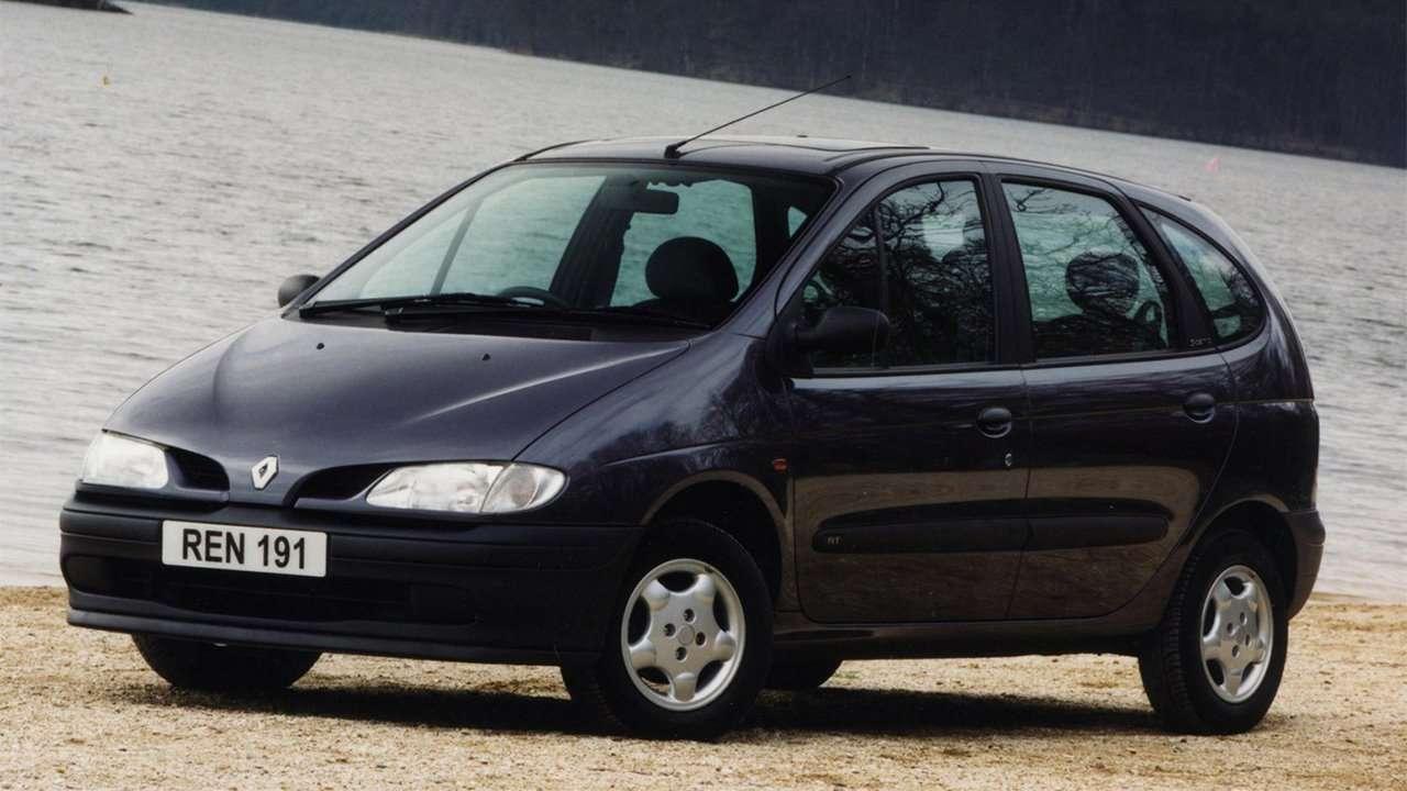 Renault Scenic 1 спереди