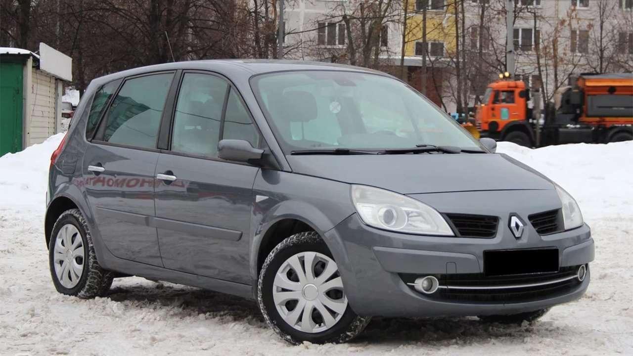 Передняя часть Renault Scenic 2003-2009