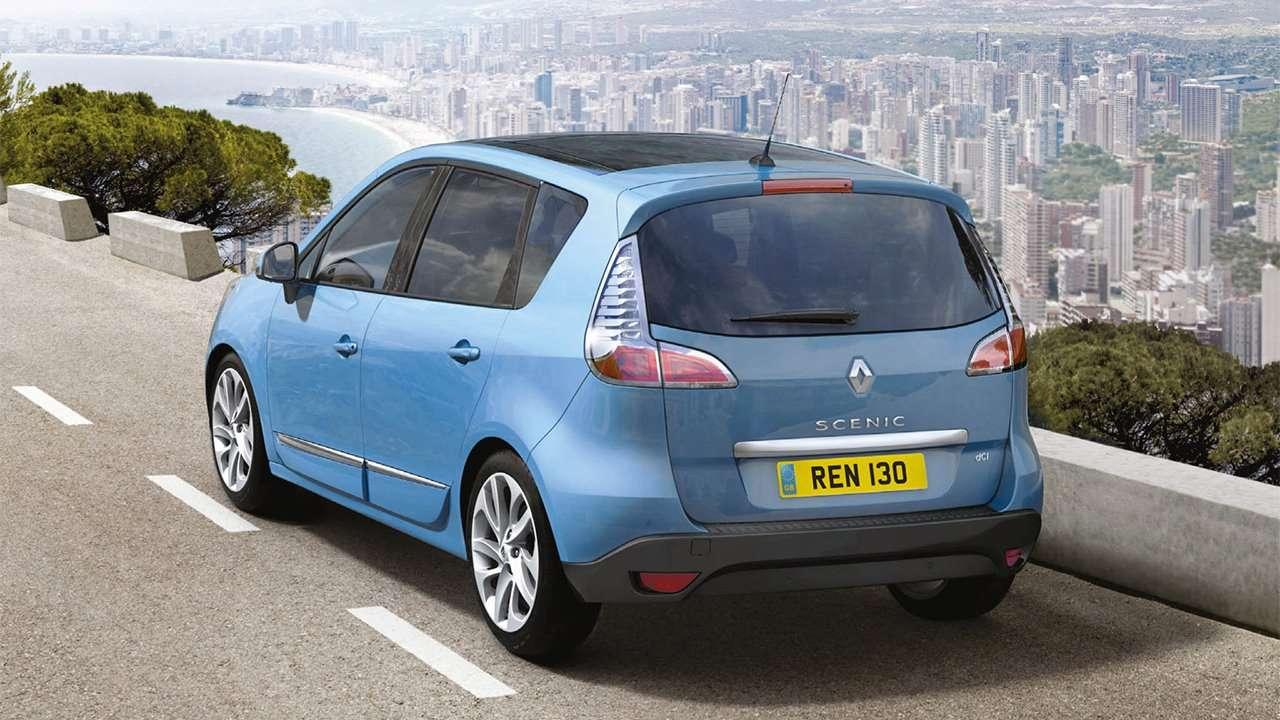 Renault Scenic 3 фото сзади