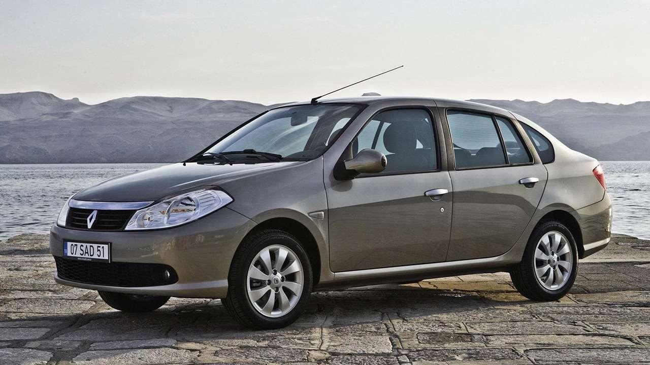 Renault Symbol 2 2008 фото спереди