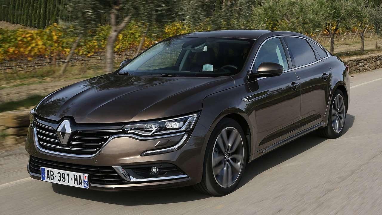 Renault Talisman 2020-2021 фото спереди