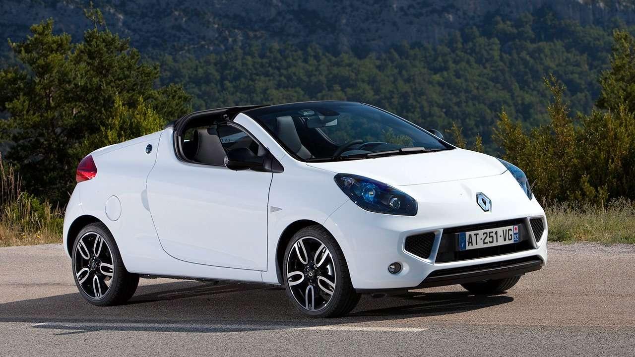Renault Wind фото спереди
