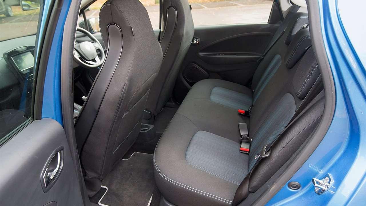 Задние сиденья Renault ZOE