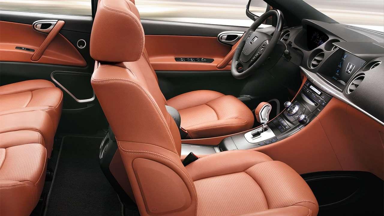 Передние сиденья Luxgen7 SUV