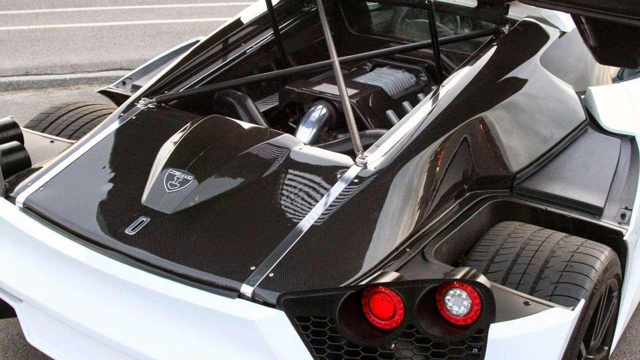 Фото двигателя Zenvo ST1