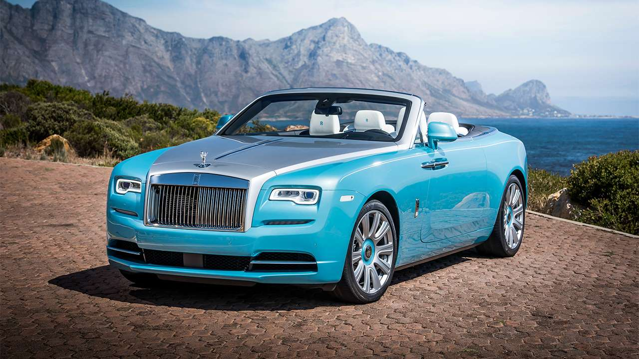 Rolls-Royce Dawn 2019-2020 фото спереди