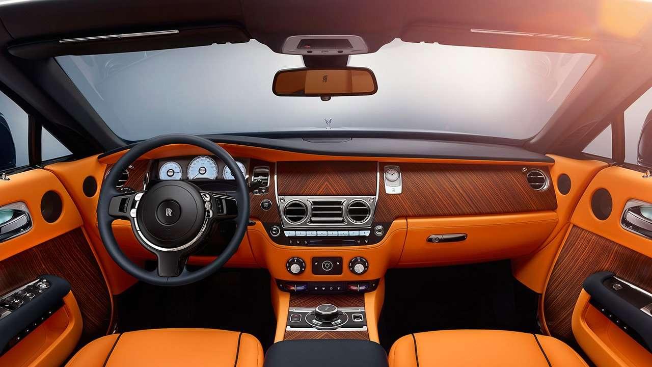 Rolls-Royce Dawn 2019-2020 салон