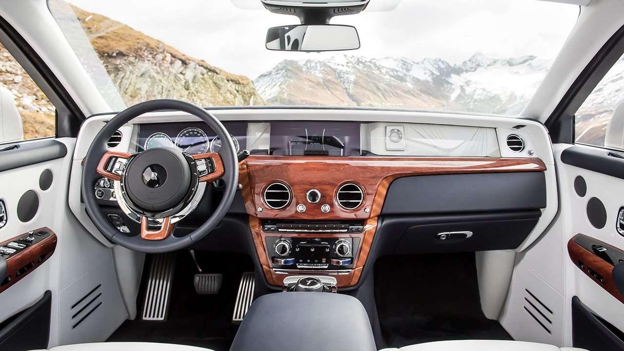 Салон нового Rolls-Royce Phantom