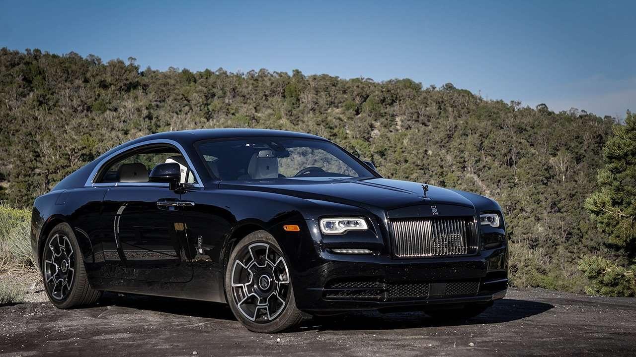 Rolls-Royce Wraith 2020-2021 фото спереди
