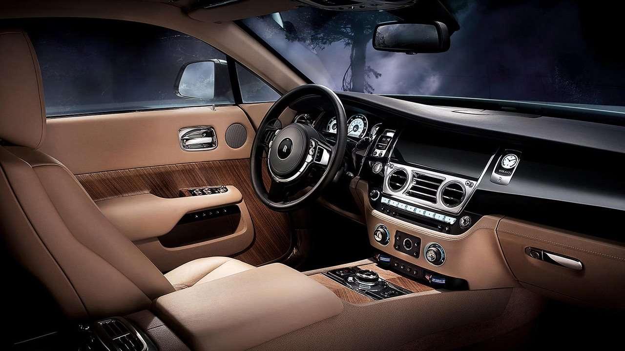 Rolls-Royce Wraith 2020-2021 салон