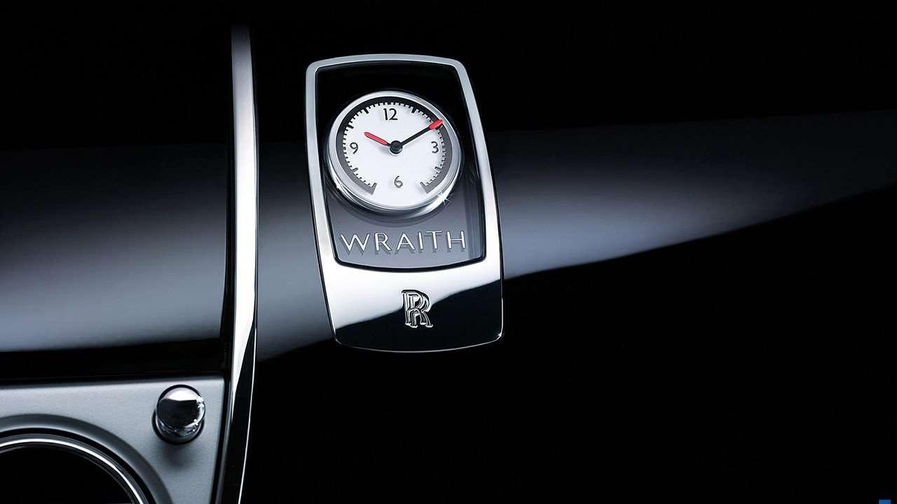 Rolls-Royce Wraith 2020-2021 фото часов