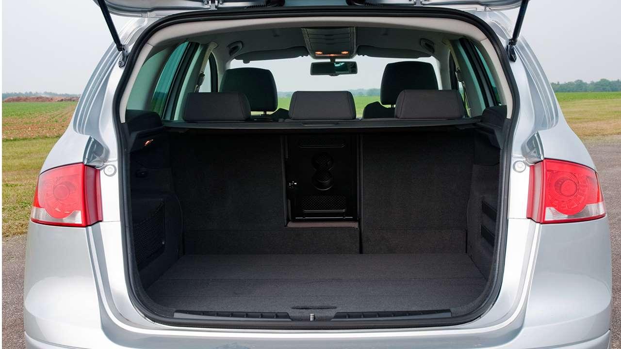 Фото багажника SEAT Altea