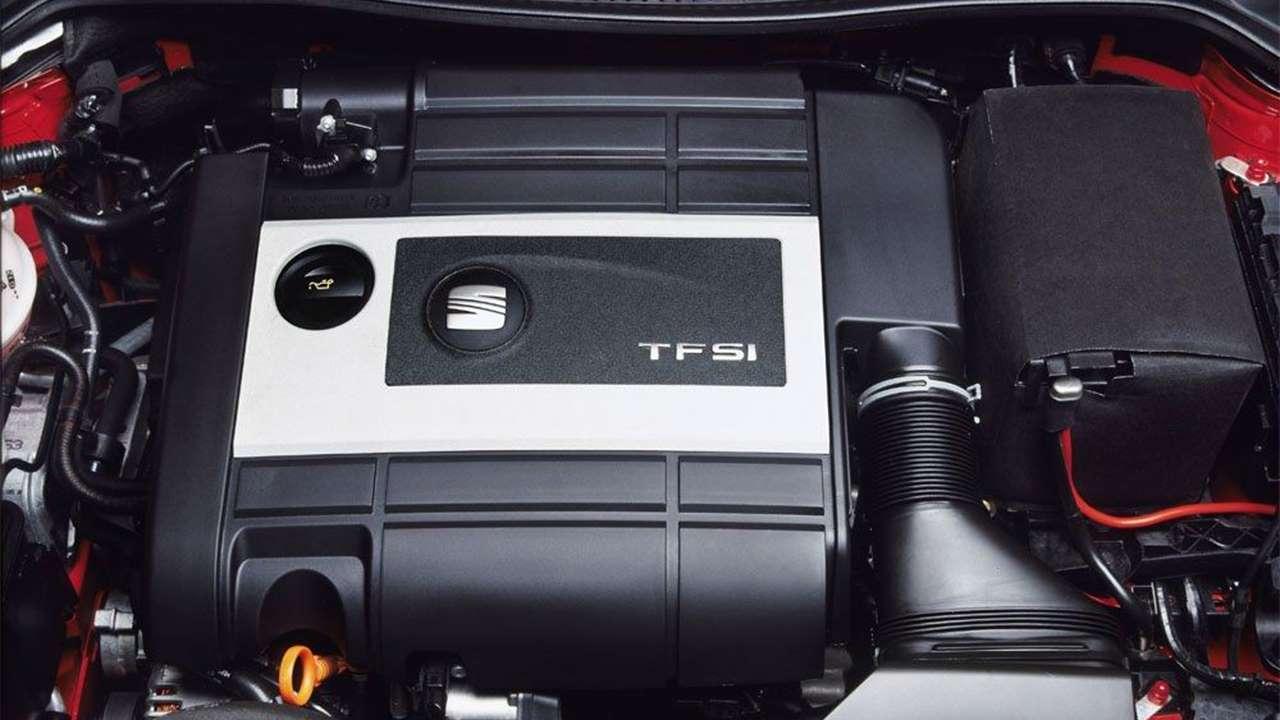 TFSI мотор второго Леона
