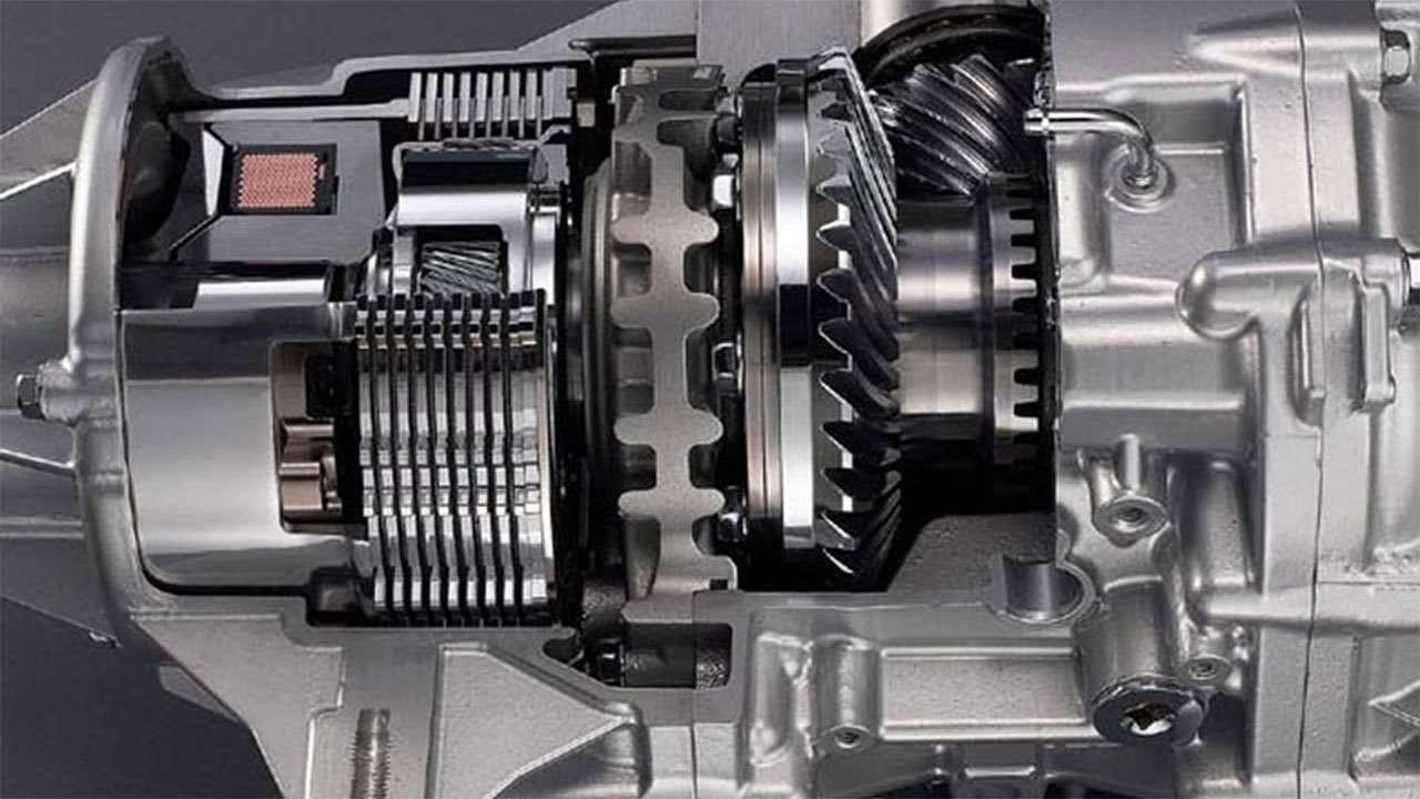 Редуктор системы SH-AWD
