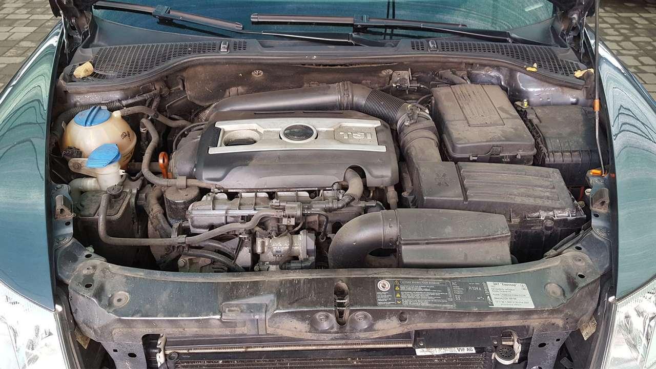 Фото двигателя TSI