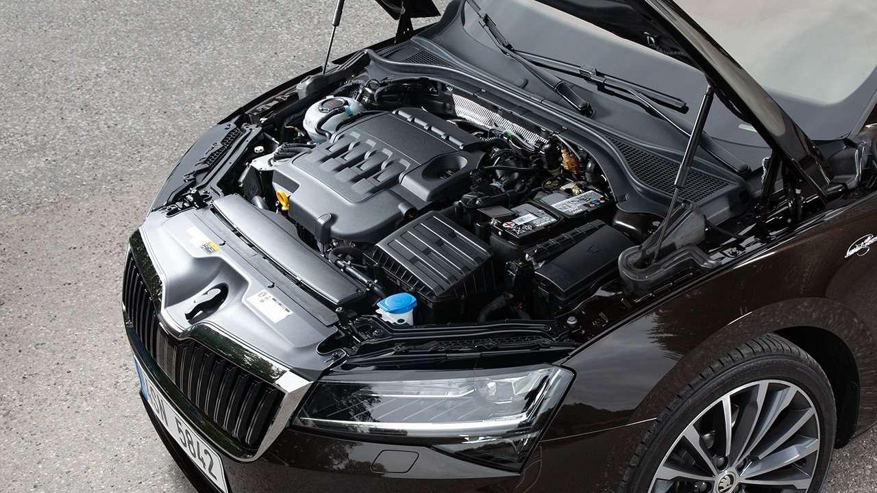 Двигатель рестайлинговой Skoda Superb
