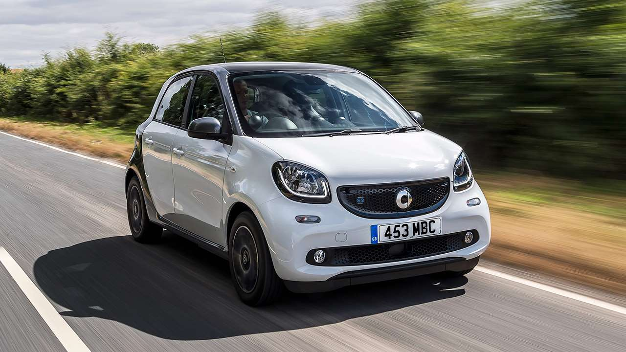 Smart ForFour на трассе