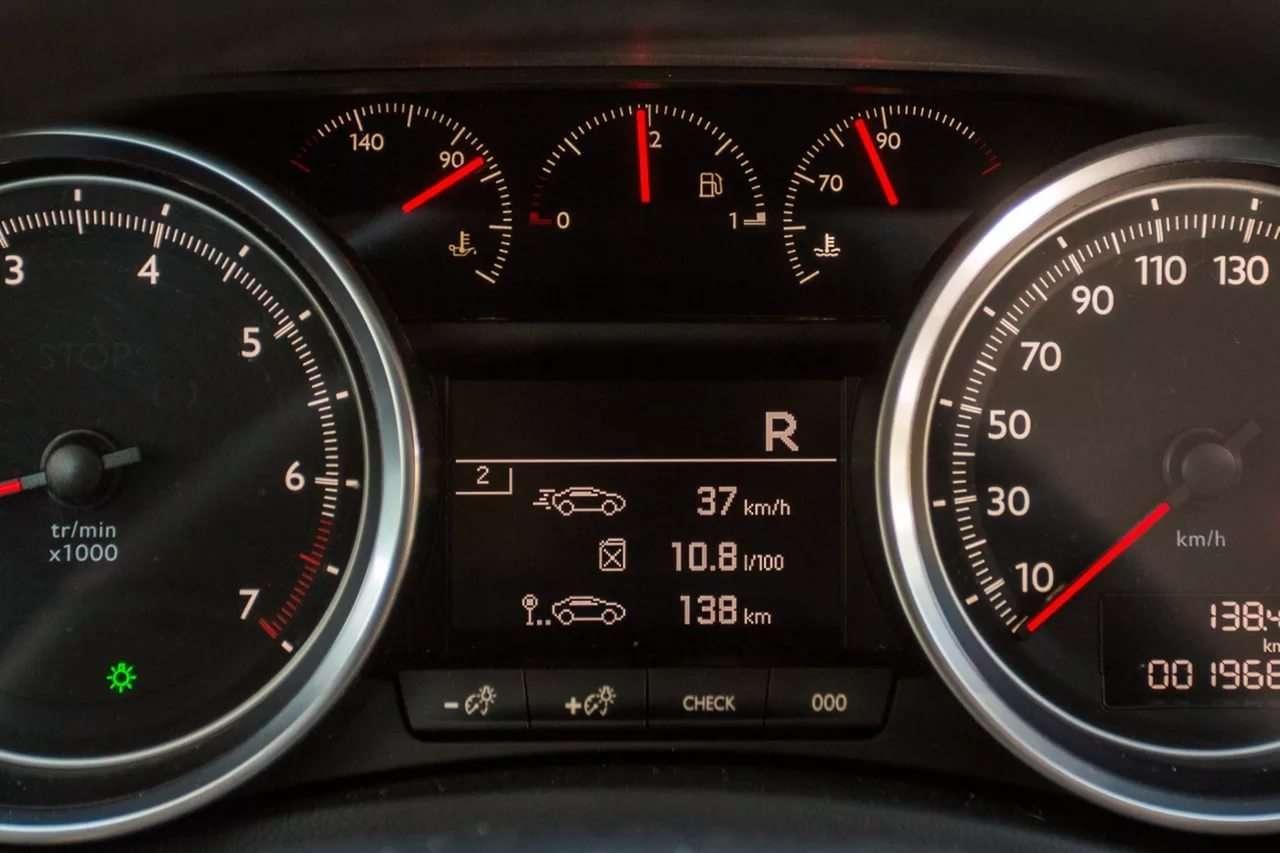 Средний расход топлива. Бортовой компьютер