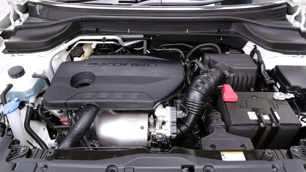 Фото двигателя Саньенга Тиволи