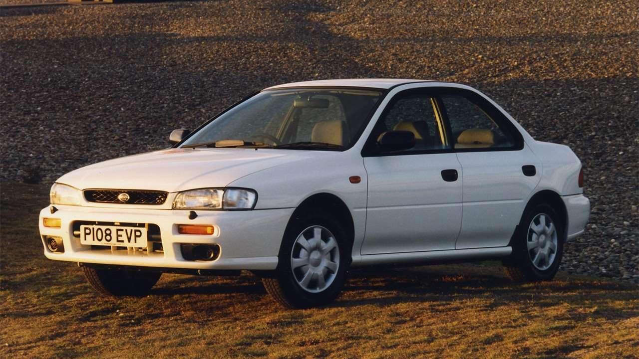 Передок Subaru Impreza 1