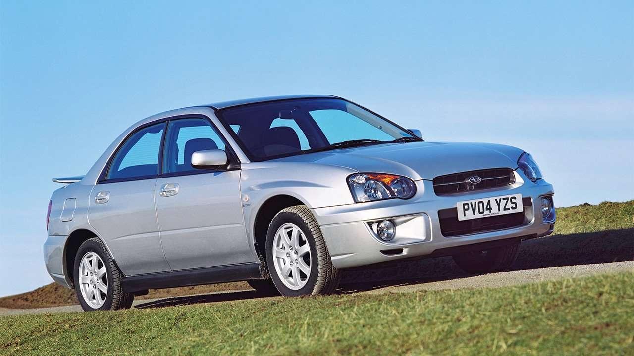 Первый рестайл Subaru Impreza 2