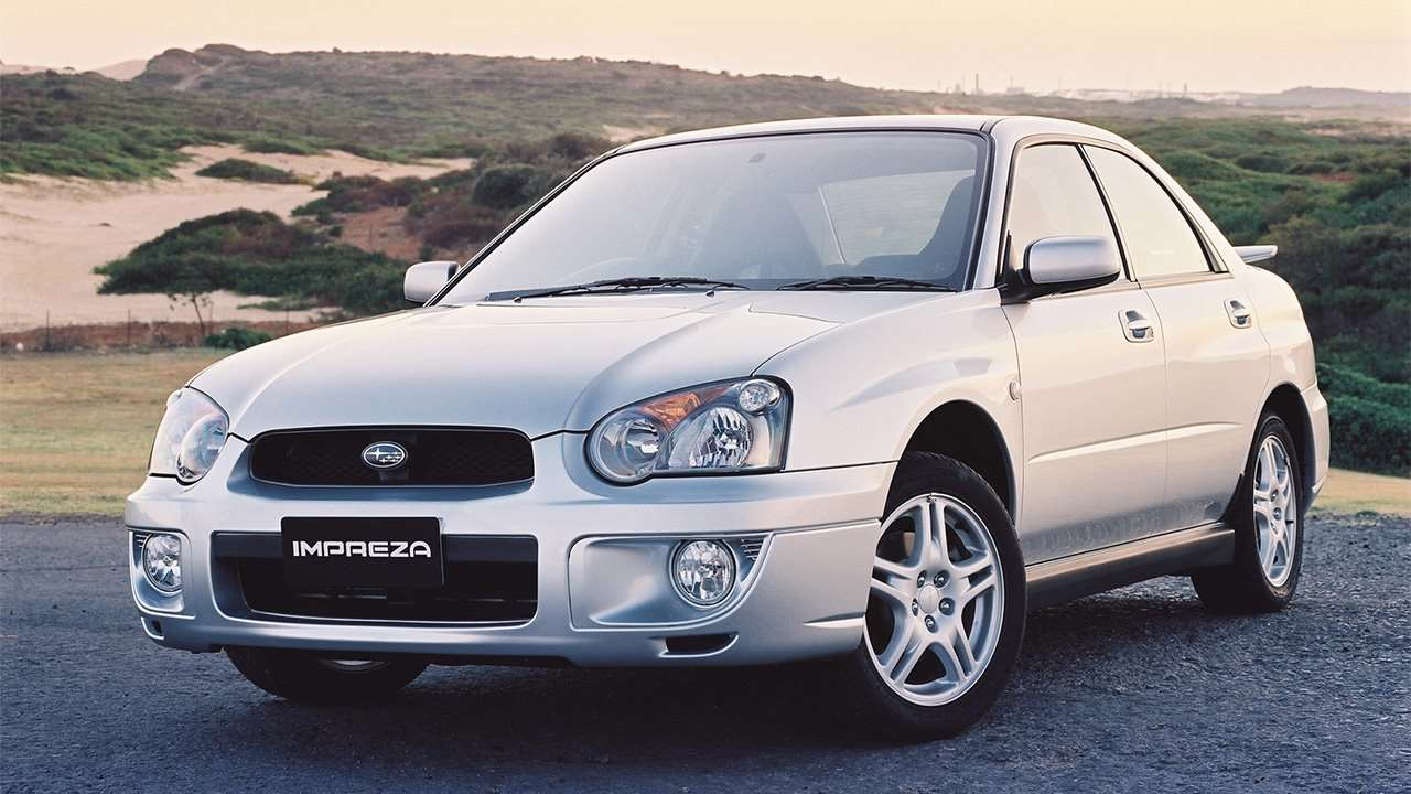 Морда второй Subaru Impreza