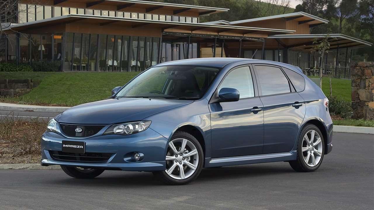 Хэтчбек третьего поколения Subaru Impreza