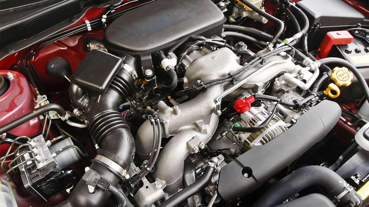 2,5-литровый мотор Импреза 3