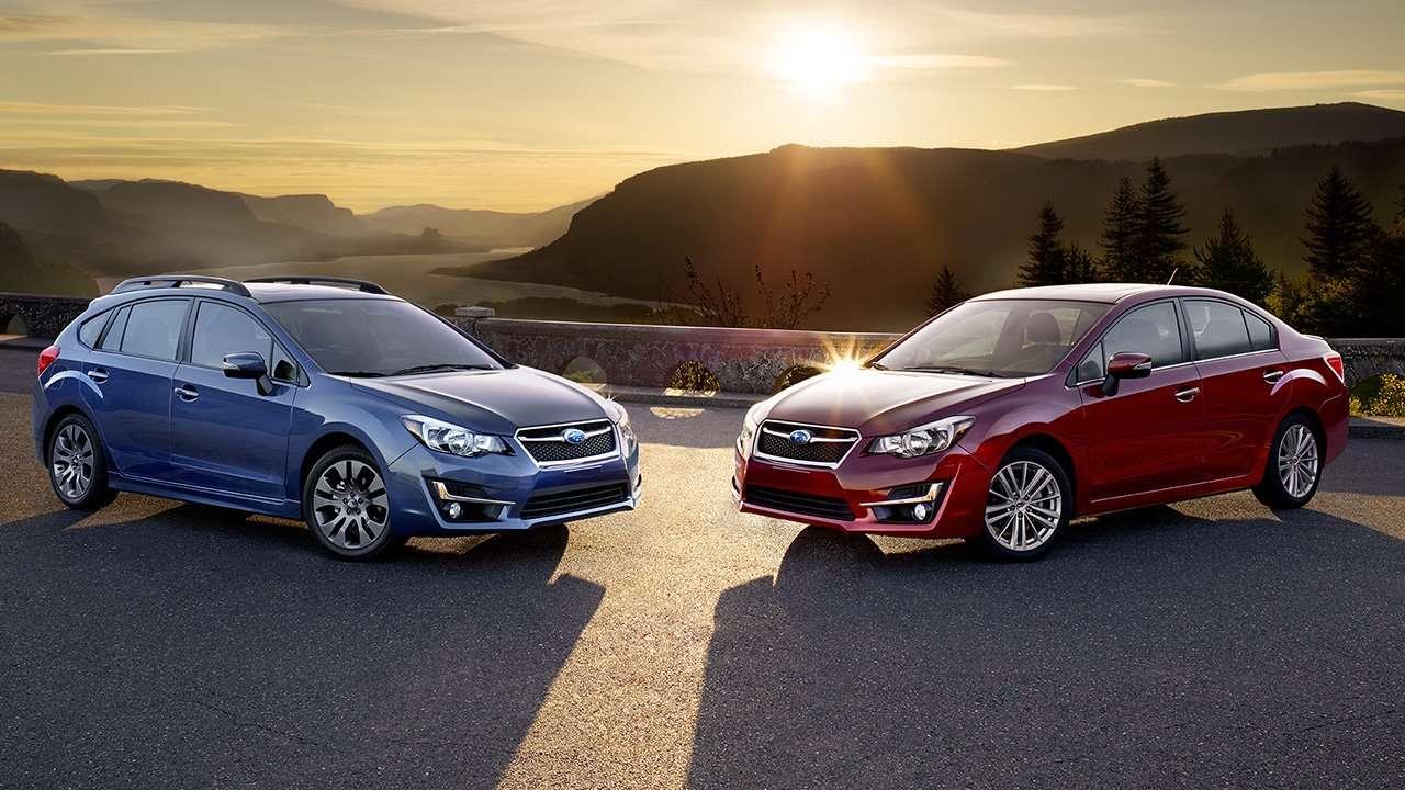 Хэтчбек и седан Subaru Impreza 4